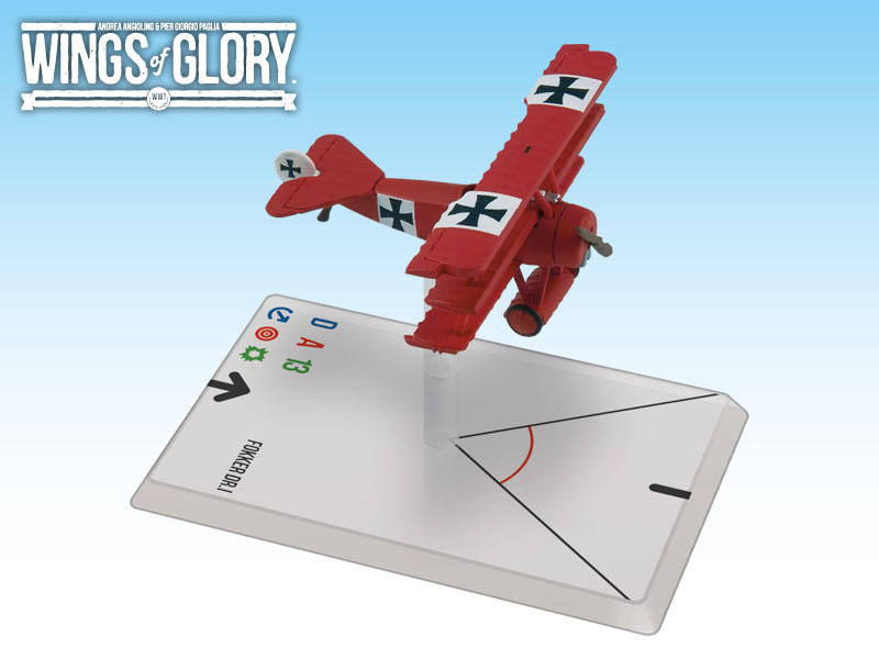 Wings of Glory: WWI: Fokker DR.I (Von Richthofen) by Ares Games