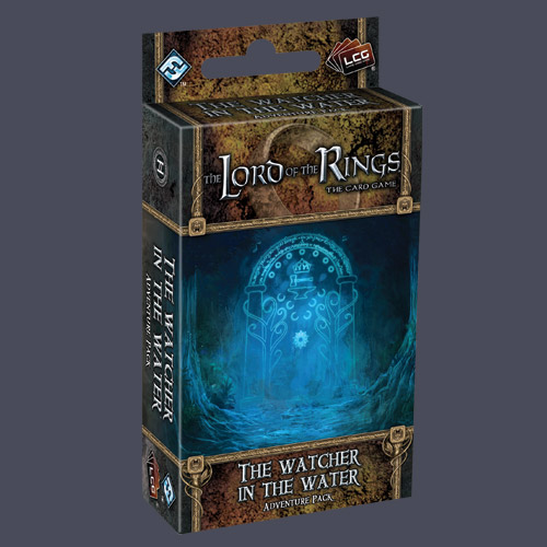 Lord of the Rings LCG: Watcher In The Water Adventure Pack by Fantasy Flight Games