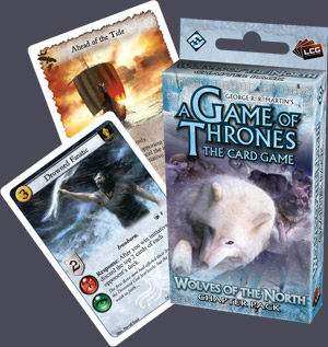 AGOT LCG: Wolves of the North Chapter Pack by Fantasy Flight Games