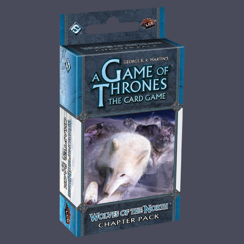 A Game Of Thrones LCG: Wolves Of The North Chapter Pack by Fantasy Flight Games