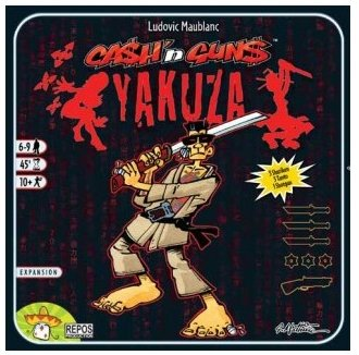 Ca$h n Gun$ Yakuza (Cash n Guns Yakuza) by Asmodee Editions