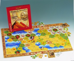 Settlers of Catan Historical Scenarios - Alexander & Cheops by Mayfair Games