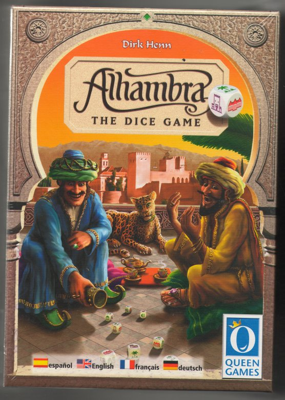 Alhambra: The Dice Game Expansion by Rio Grande Games / Queen