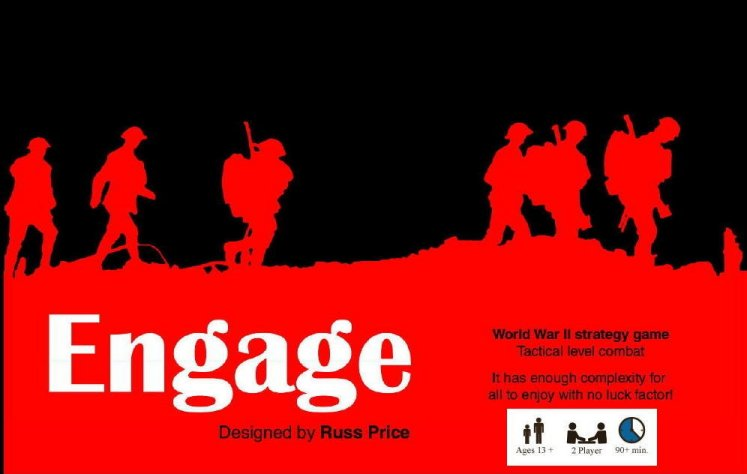 Engage Board Game by Table Tactics