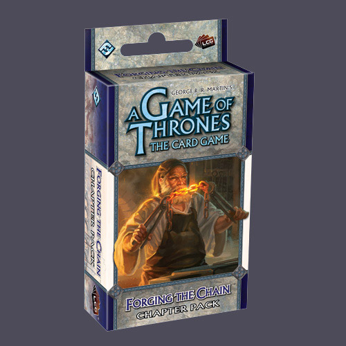 A Game Of Thrones Lcg: Forging The Chain Chapter Pack by Fantasy Flight Games
