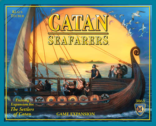 Settlers of Catan Board Game : Seafarers Of Catan by Mayfair Games