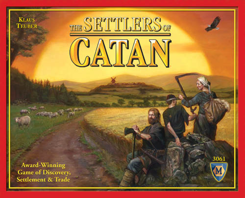 Settlers of Catan Board Game by Mayfair Games