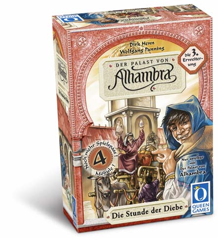 Alhambra: the Thief's Turn by Rio Grande Games